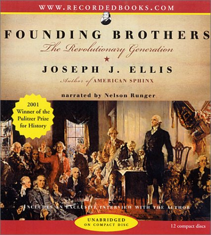 an analysis of founding brothers by joseph j ellis Most widely held works about joseph j ellis past imperfect : facts, fictions, and fraud--american history from bancroft  the founding of america by kelsey grammer.